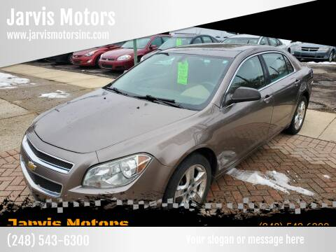 2011 Chevrolet Malibu for sale at Jarvis Motors in Hazel Park MI