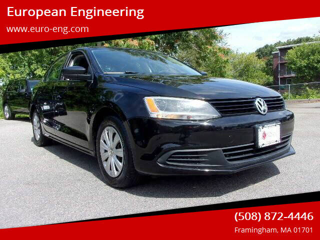 2013 Volkswagen Jetta for sale at European Engineering in Framingham MA
