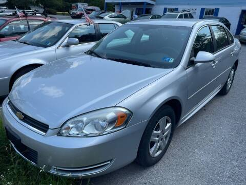 2011 Chevrolet Impala for sale at Noble PreOwned Auto Sales in Martinsburg WV