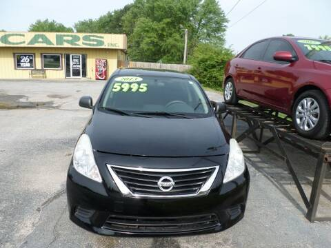 2013 Nissan Versa for sale at Credit Cars of NWA in Bentonville AR