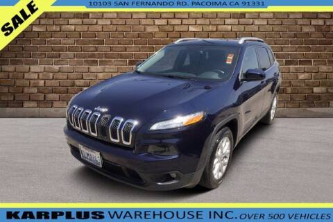 2016 Jeep Cherokee for sale at Karplus Warehouse in Pacoima CA