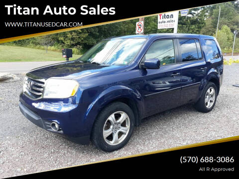 2013 Honda Pilot for sale at Titan Auto Sales in Berwick PA