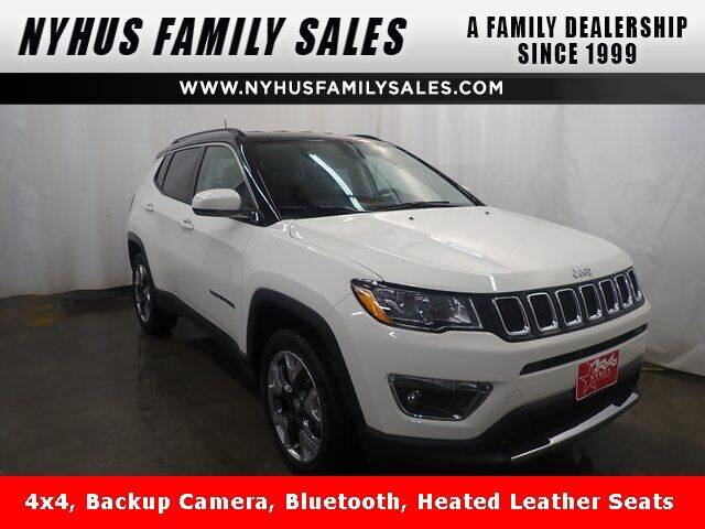 2019 Jeep Compass for sale at Nyhus Family Sales in Perham MN