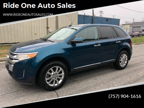 2011 Ford Edge for sale at Ride One Auto Sales in Norfolk VA