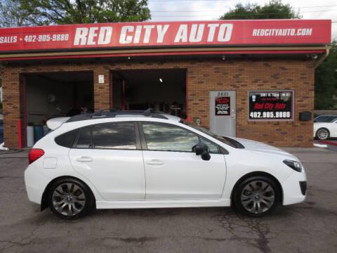 2013 Subaru Impreza for sale at Red City  Auto in Omaha NE