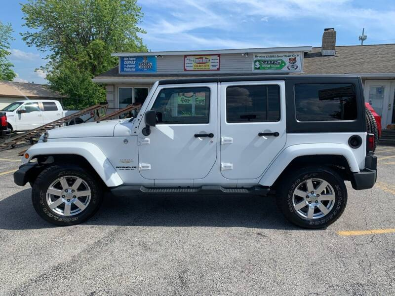 2014 Jeep Wrangler Unlimited for sale at Revolution Motors LLC in Wentzville MO