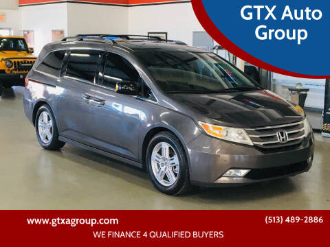 2012 Honda Odyssey for sale at GTX Auto Group in West Chester OH
