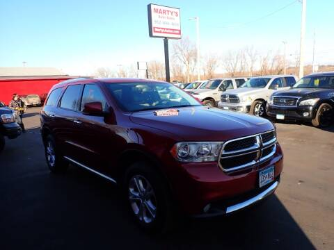 2013 Dodge Durango for sale at Marty's Auto Sales in Savage MN