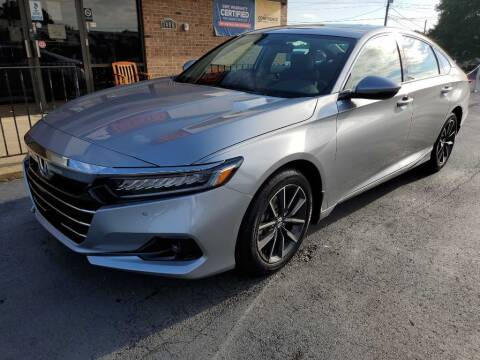 2021 Honda Accord for sale at THE TRAIN AUTO SALES & RENTALS in Taylors SC