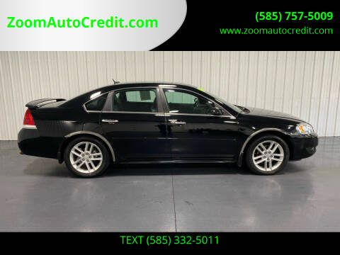 2013 Chevrolet Impala for sale at ZoomAutoCredit.com in Elba NY