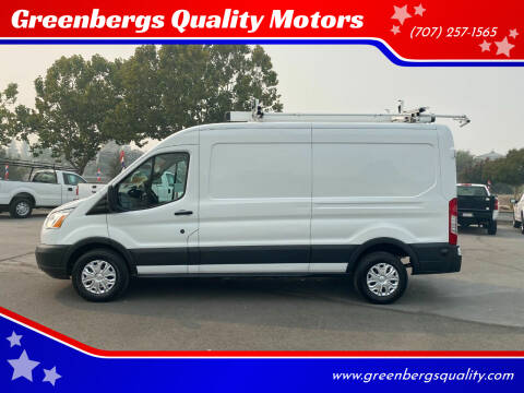 2015 Ford Transit Cargo for sale at Greenbergs Quality Motors in Napa CA