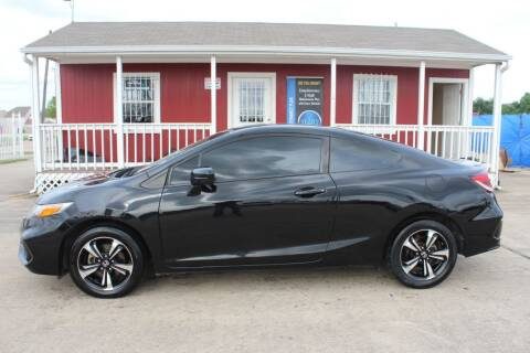 2015 Honda Civic for sale at AMT AUTO SALES LLC in Houston TX