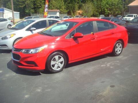 2017 Chevrolet Cruze for sale at Mike Lipscomb Auto Sales in Anniston AL
