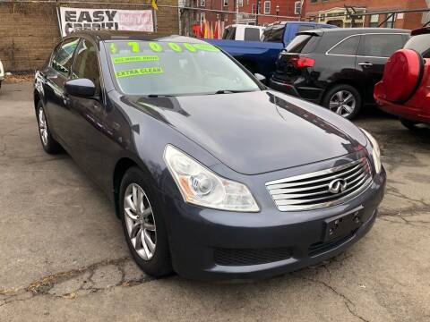2009 Infiniti G37 Sedan for sale at James Motor Cars in Hartford CT
