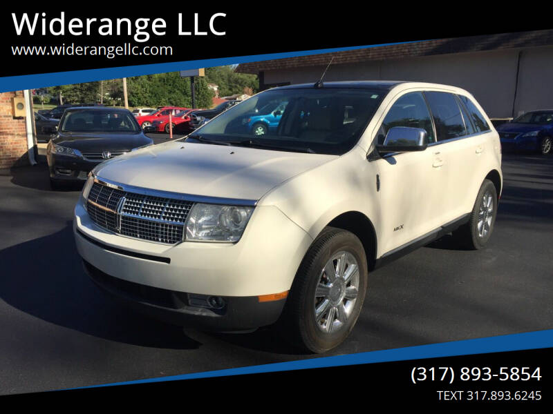 2008 Lincoln MKX for sale at Widerange LLC in Greenwood IN
