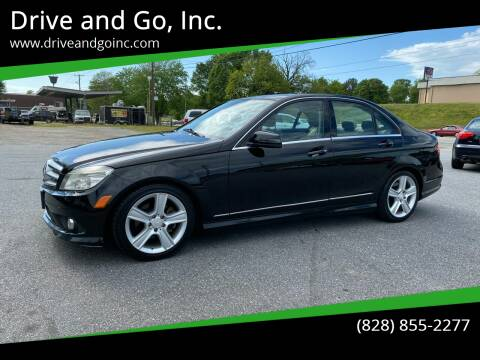 2010 Mercedes-Benz C-Class for sale at Drive and Go, Inc. in Hickory NC