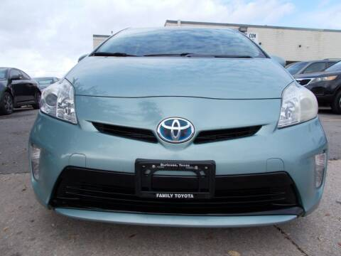2013 Toyota Prius for sale at ACH AutoHaus in Dallas TX