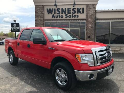 2011 Ford F-150 for sale at Wisneski Auto Sales, Inc. in Green Bay WI