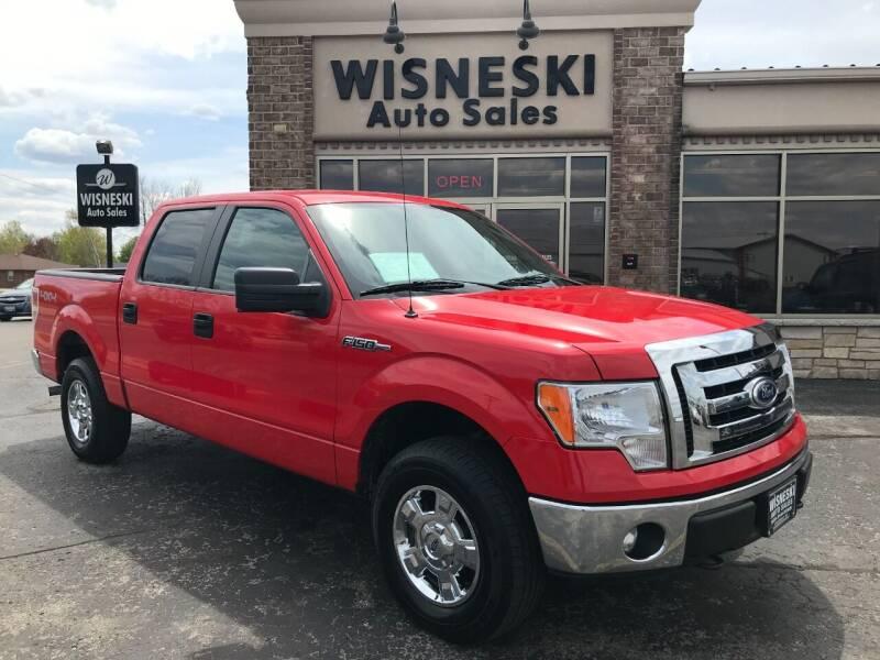 2011 Ford F-150 for sale at Wisneski Auto Sales, Inc. in Green Bay WI