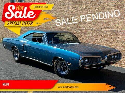 1970 Dodge Coronet for sale at MGM CLASSIC CARS in Addison IL
