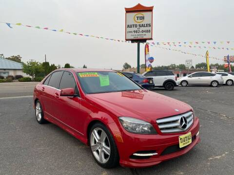 2011 Mercedes-Benz C-Class for sale at TDI AUTO SALES in Boise ID