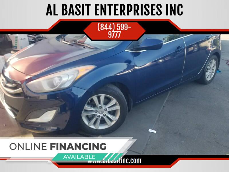 2013 Hyundai Elantra GT for sale at AL BASIT ENTERPRISES INC in Riverside CA