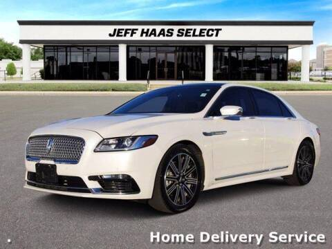 2017 Lincoln Continental for sale at JEFF HAAS MAZDA in Houston TX