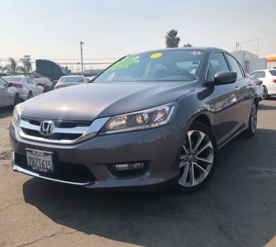 2014 Honda Accord for sale at LUGO AUTO GROUP in Sacramento CA