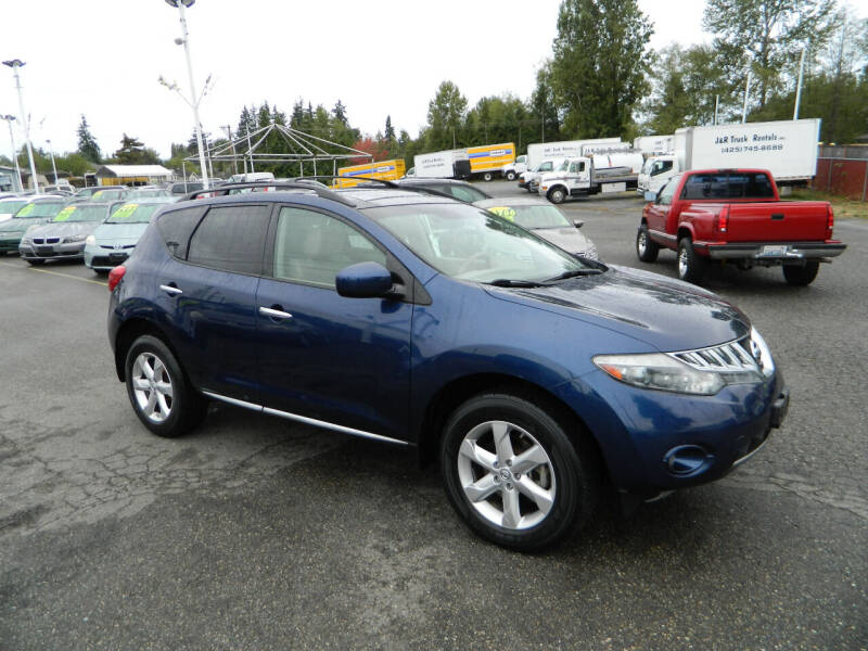 2010 Nissan Murano for sale at J & R Motorsports in Lynnwood WA