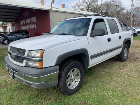 2004 Chevrolet Avalanche for sale at M & M Motors in Angleton TX