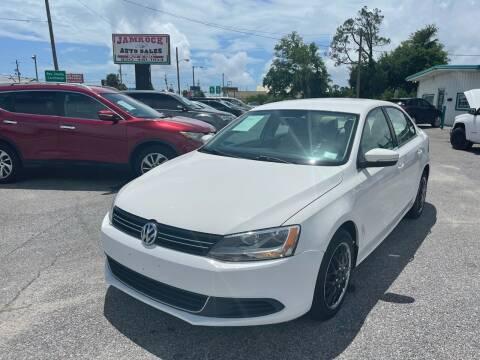 2013 Volkswagen Jetta for sale at Jamrock Auto Sales of Panama City in Panama City FL