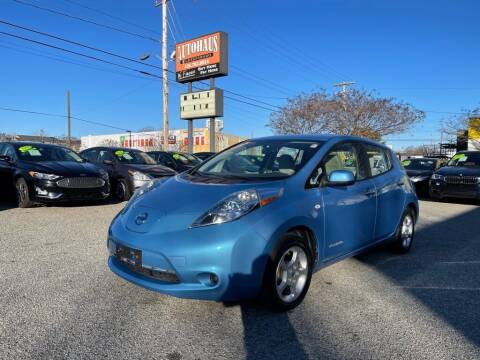 2012 Nissan LEAF for sale at Autohaus of Greensboro in Greensboro NC