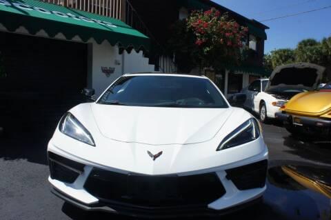 2020 Chevrolet Corvette for sale at Dream Machines USA in Lantana FL