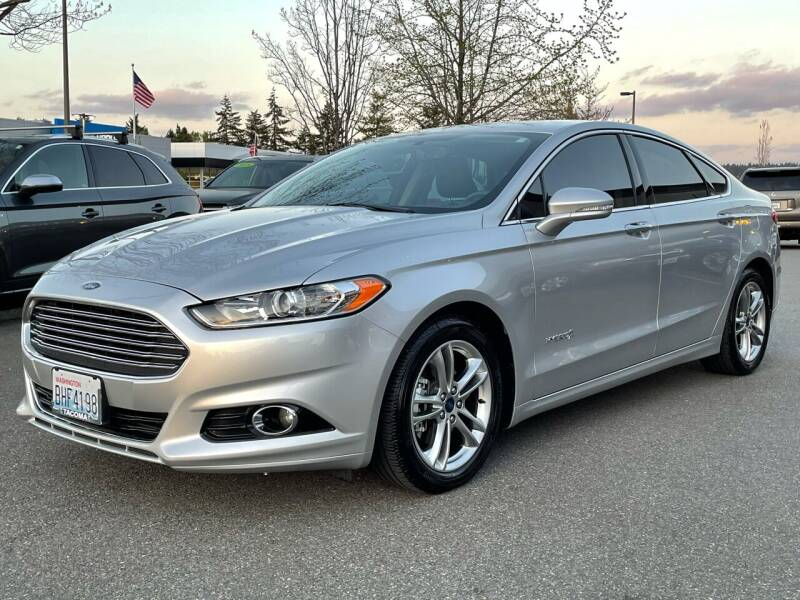 2015 Ford Fusion Hybrid for sale in Bellevue, WA