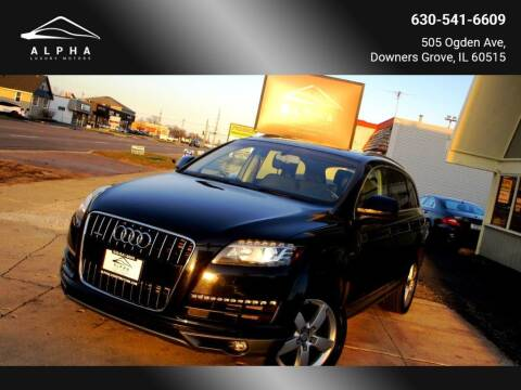2013 Audi Q7 for sale at Alpha Luxury Motors in Downers Grove IL