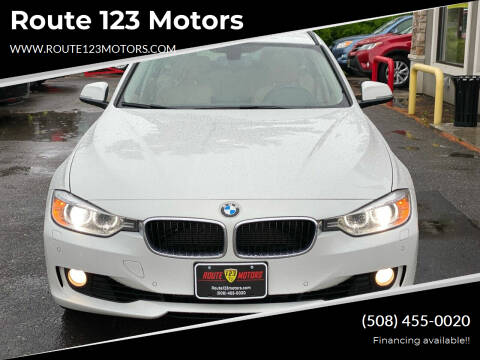 2014 BMW 3 Series for sale at Route 123 Motors in Norton MA