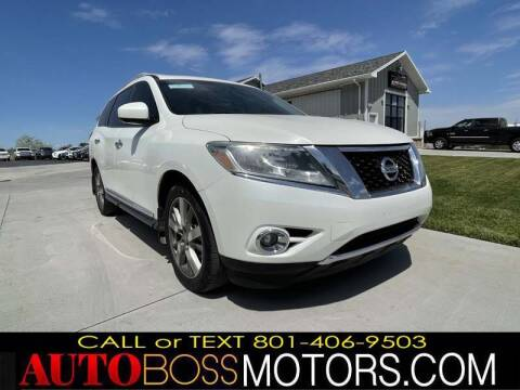 2015 Nissan Pathfinder for sale at Auto Boss in Woods Cross UT