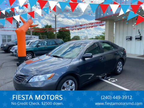 2007 Toyota Camry for sale at FIESTA MOTORS in Hagerstown MD