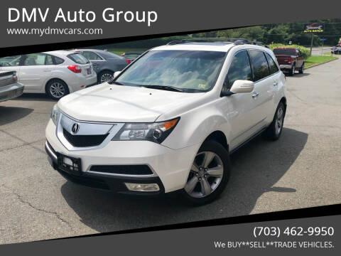 2012 Acura MDX for sale at DMV Auto Group in Falls Church VA