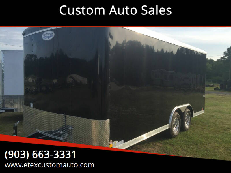 2022 Continental Cargo 8.5x18 Tandem Axle for sale in Longview, TX
