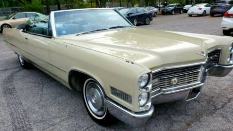 1966 Cadillac DeVille for sale at Classic Car Deals in Cadillac MI