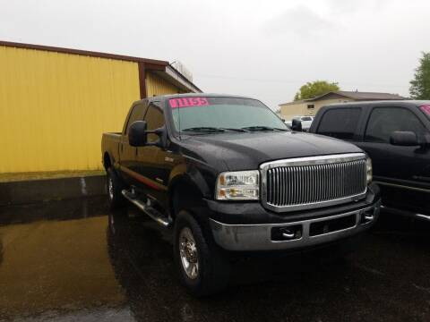 2007 Ford F-350 Super Duty for sale at BELOW BOOK AUTO SALES in Idaho Falls ID
