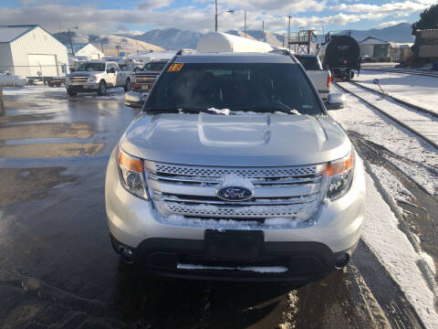 2015 Ford Explorer for sale at Best Buy Auto Sales in Missoula MT