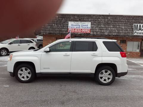 2013 GMC Terrain for sale at Kenny's Korner in Hartland MI