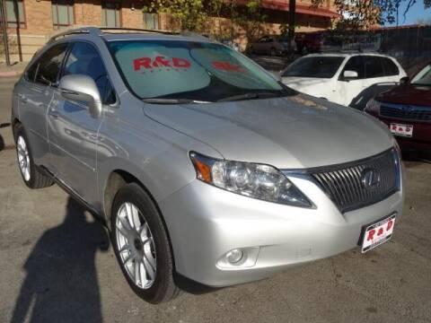 2010 Lexus RX 350 for sale at R & D Motors in Austin TX