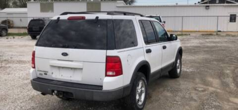 2003 Ford Explorer for sale at VICTORY LANE AUTO in Raymore MO
