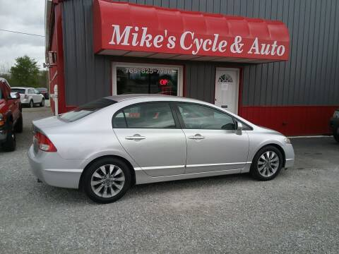2010 Honda Civic for sale at MIKE'S CYCLE & AUTO in Connersville IN