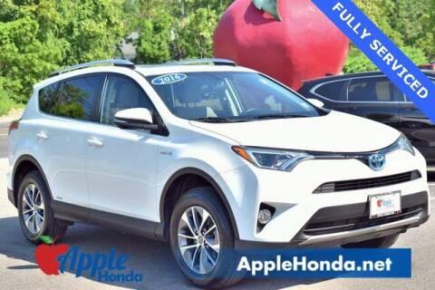 2016 Toyota RAV4 Hybrid for sale at APPLE HONDA in Riverhead NY