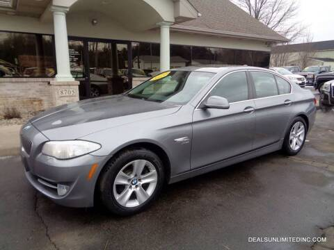 2012 BMW 5 Series for sale at DEALS UNLIMITED INC in Portage MI