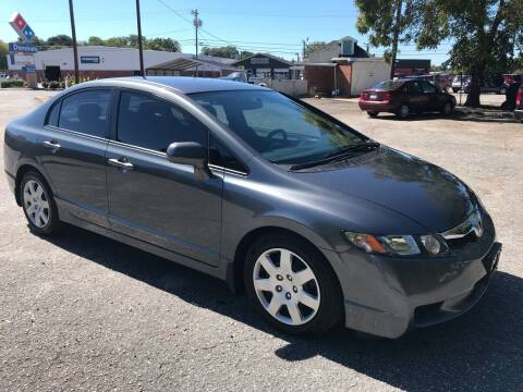2010 Honda Civic for sale at Cherry Motors in Greenville SC
